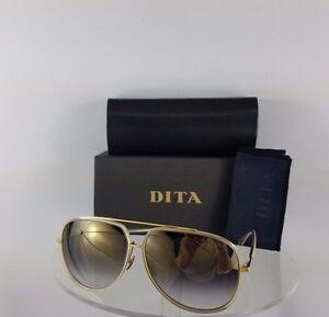 23ec64745e2d Brand New Authentic Dita Sunglasses Condor Two 21010-B-GRY-GLD 62mm ...