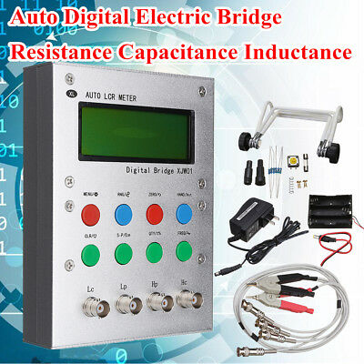 LCR Digital Electric Bridge Resistance Capacitance Inductance ESR Meter Set