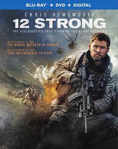 12 Strong (Bd) [Blu-ray] Thad Hicks, Chris Hemsworth, Michael Shannon, Mic