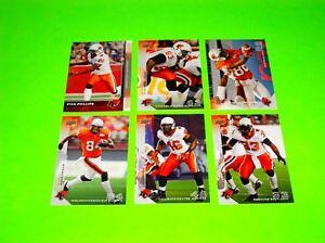 6-BC-BRITISH-COLUMBIA-LIONS-UPPER-DECK-CFL-FOOTBALL-CARDS-1-4-6-9-10-135-3