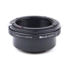 Dollice Nikon F G DX Lens to Fujifilm X mount FX Adapter X-Pro2 E2 M1 T2 camera