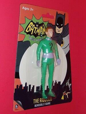 1966 NJ Croce 3926 1966 el Acertijo Batman Bendable figura