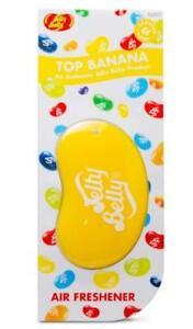 1 x 3D JELLY BELLY Bean Sweet Gel Air Freshener TOP BANANA Freshner 5010555152579