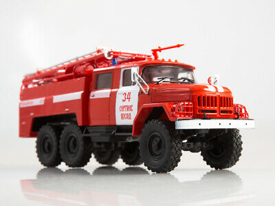 ZIL 131 AC-40 137A Fire Truck Modimio Collections №1 1:43