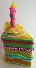 Katherine's Collection W Kleski Birthday Cake Trinket Jewelry Gift Box New Pink