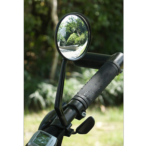 Flex Rear Back View Rearview Convex Mirror Glass Safe Bike Bicycle Handlebar*-*