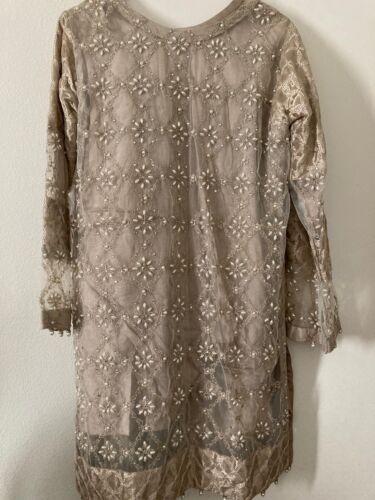 Pakistani suit dress sharara party wear wedding w… - image 1