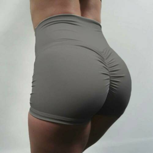 Womens Sports Yoga Shorts Push Up Scrunch Hot Pants Gym Workout Casual Booty M86