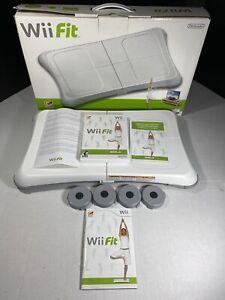 Nintendo-Wii-Fit-RVL-021-Complete-Box-W-Balance-Board-Game-Manuals-Receipt
