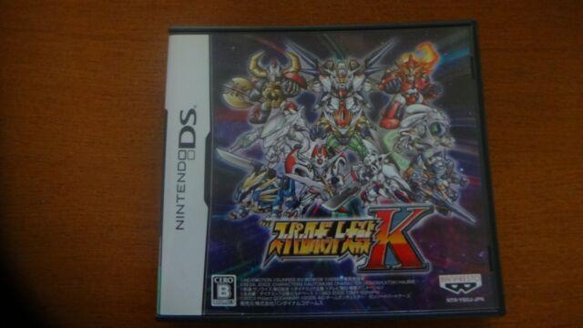 Super Robot Taisen K Nintendo DS