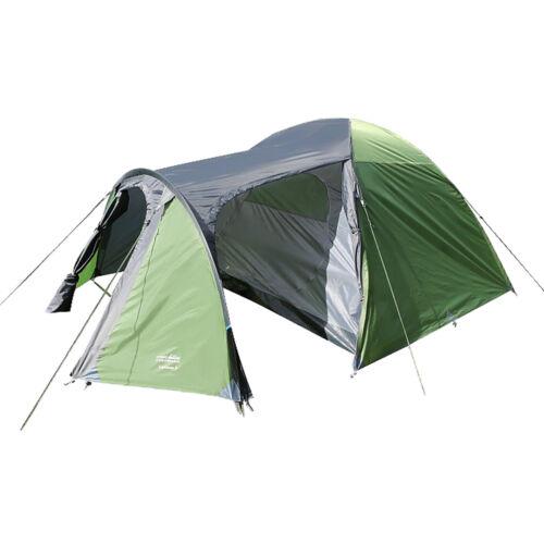 High Colorado Lacona 3-Personen Tente Dôme avec Tige de Tunnel Camping Neuf