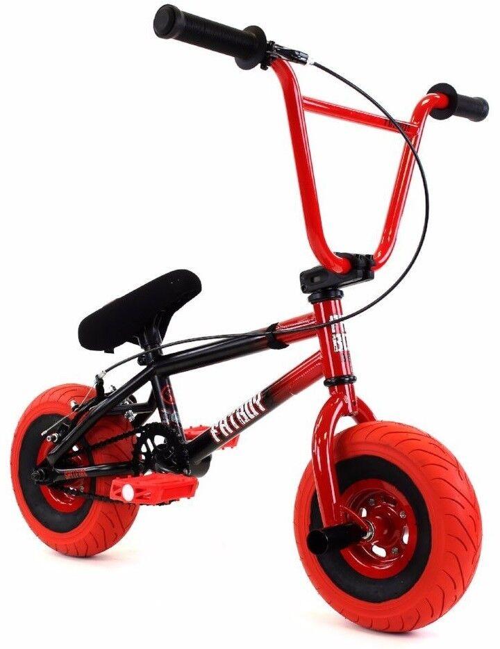 FatBoy Stunt Mini 10  BMX Bicycle Fat Tire Freestyle Bike Spitfire NEW
