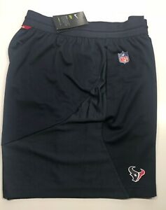 95ce3e45 Details about NFL Houston Texans Nike Dri Fit Knit Fly Blue Athletic  Running Shorts Men's XL