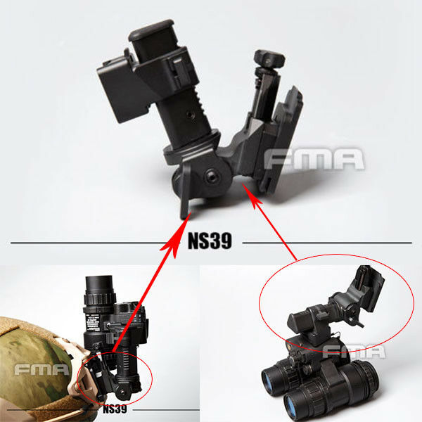 FMA Hunting Airsoft Paintball NVG Helmet Mount NS39 Mount TB606 For Tactical