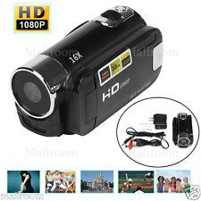 """2,7""""TFT HD Kamera 1080P 16MP Video Camera LCD 16X Zoom Camcorders Recorder DV DE"""