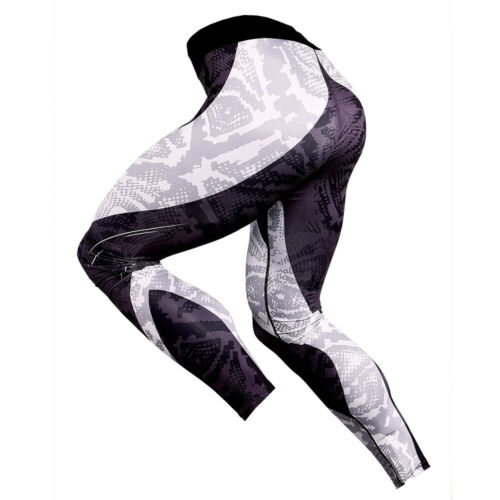 Men/'s Compression Athletic Base Layers Running Gym Sports Long Bottom Quick-dry