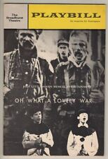 """Oh What A Lovely War""  Playbill 1965  Victor Spinetti, Barbara Windsor"