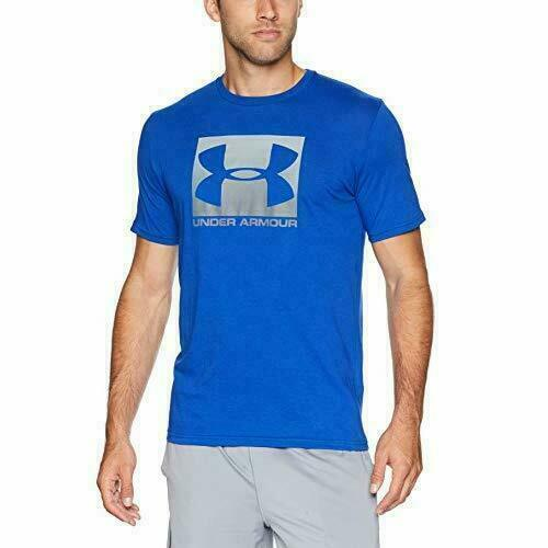 Under Armour Boxed Sport Style Short-Sleeve Shirt Royal//Graphite Large