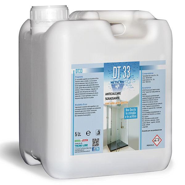 DT33 -dertergente protettivo antigoccia azione anticalcare 5Lt Metacril 07200501 | | | New Style  a3322a