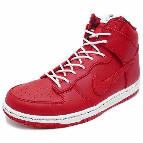 Nike 845055 Men Red Dunk Ultra High Top Basketball Casual Shoes Sneakers 15