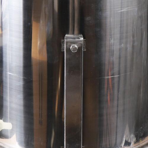 Nuevo miel apicultura tiragomas hs 4 marco panal acero inoxidable honigschleuder manual