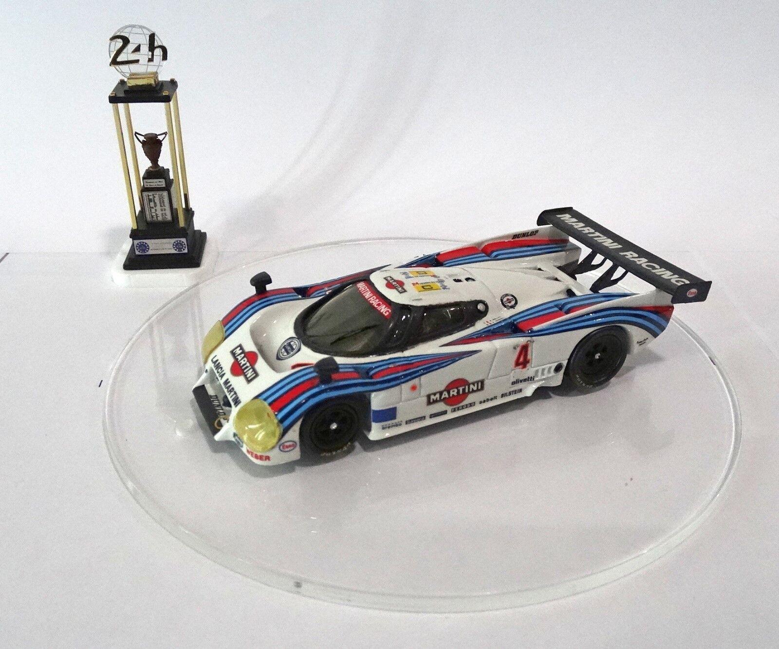 LANCIA LC2  4 Le Mans 1984 MARTINI Built Monté Kit 1/43 no spark minichamps