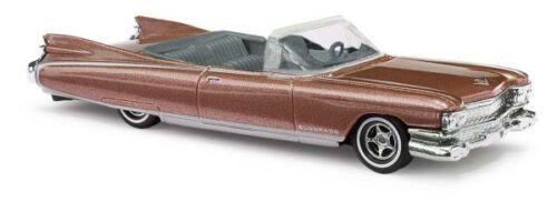 Metallica Braun Neu Busch 45118-1//87 H0 Cadillac Eldorado ´59