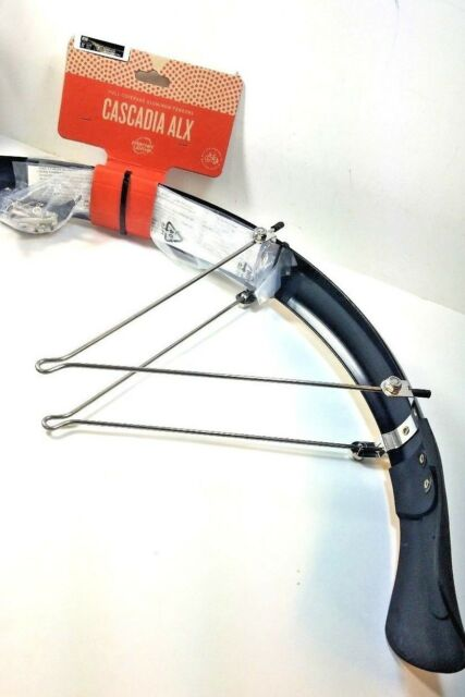 Planet Bike Cascadia ALX 26 x 1.4-1.9 Rear Recumbent Fender Each Black