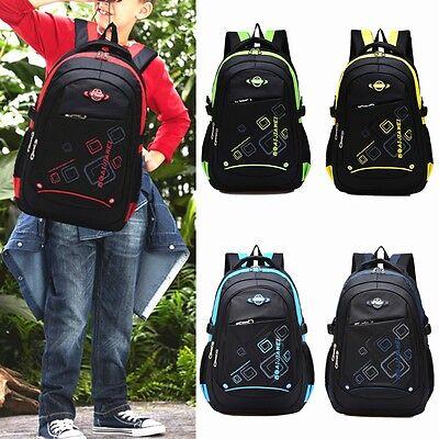 Children Waterproof School Bookbag Boy Girl Travel Hiking Backpack Shoulder Bag