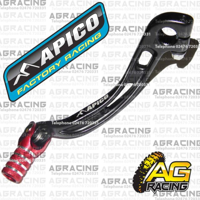 Apico Black Red Forged Gear Pedal Lever For Beta Enduro 300RR 2015 Enduro New