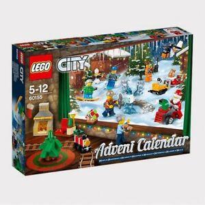 LEGO-CITY-ADVENT-CALENDAR-60155-NEW-CHRISTMAS-GIFT-MINIFIGURES-BUILDING-BUILD