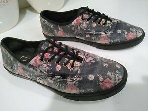 Vans Authentic Floral Print Shoes (With