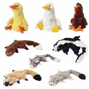 Plush Rooster Dog Toy