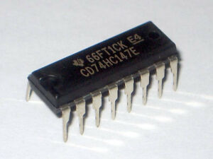 5PCS X CD74HC192E IC PRESET SYNC 4-BIT HS 16-DIP TI