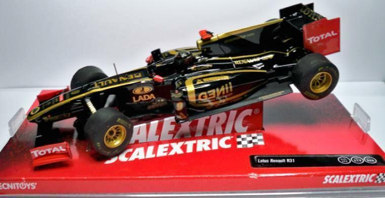 SCALEXTRIC SCX A10040S300 Lotus Renault R31 F1 2010 1 32 Slot new 1 32