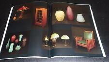 ARTS & CRAFTS IN CHICAGO IV May 7, 1989 Pottery, Furniture & Lamps 40 pages