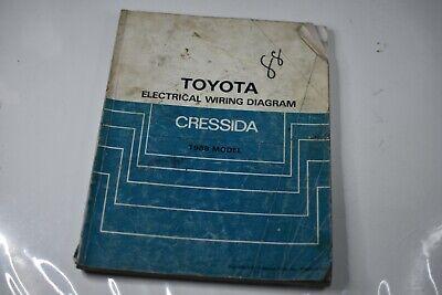 1988 Toyota Cressida Electrical Wiring Diagram Manual Oem Ebay