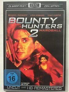 Spielfilm-034-Bounty-Hunters-2-034-mit-Michael-Dudikoff-auf-DVD