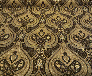Swavelle-Monte-Chocolate-Damask-Chenille-Upholstery-Fabric-By-The-Yard