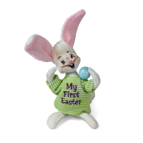 Annalee Dolls 2019 Spring Bunny's First Easter 5in Plush New with Tags