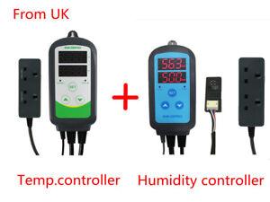 Inkbird Digital Temperature Controller 110V ITC-308 IHC-200 Digital Humidifier