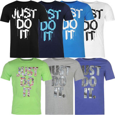 NIKE Herren T Shirt Just Do It Gr. S M L XL XXL Shirt Fitness Sport Tee neu