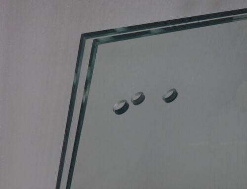 Sicherheitsglas ESG 10 mm Zuschnitt und Bearbeitung nach Mass