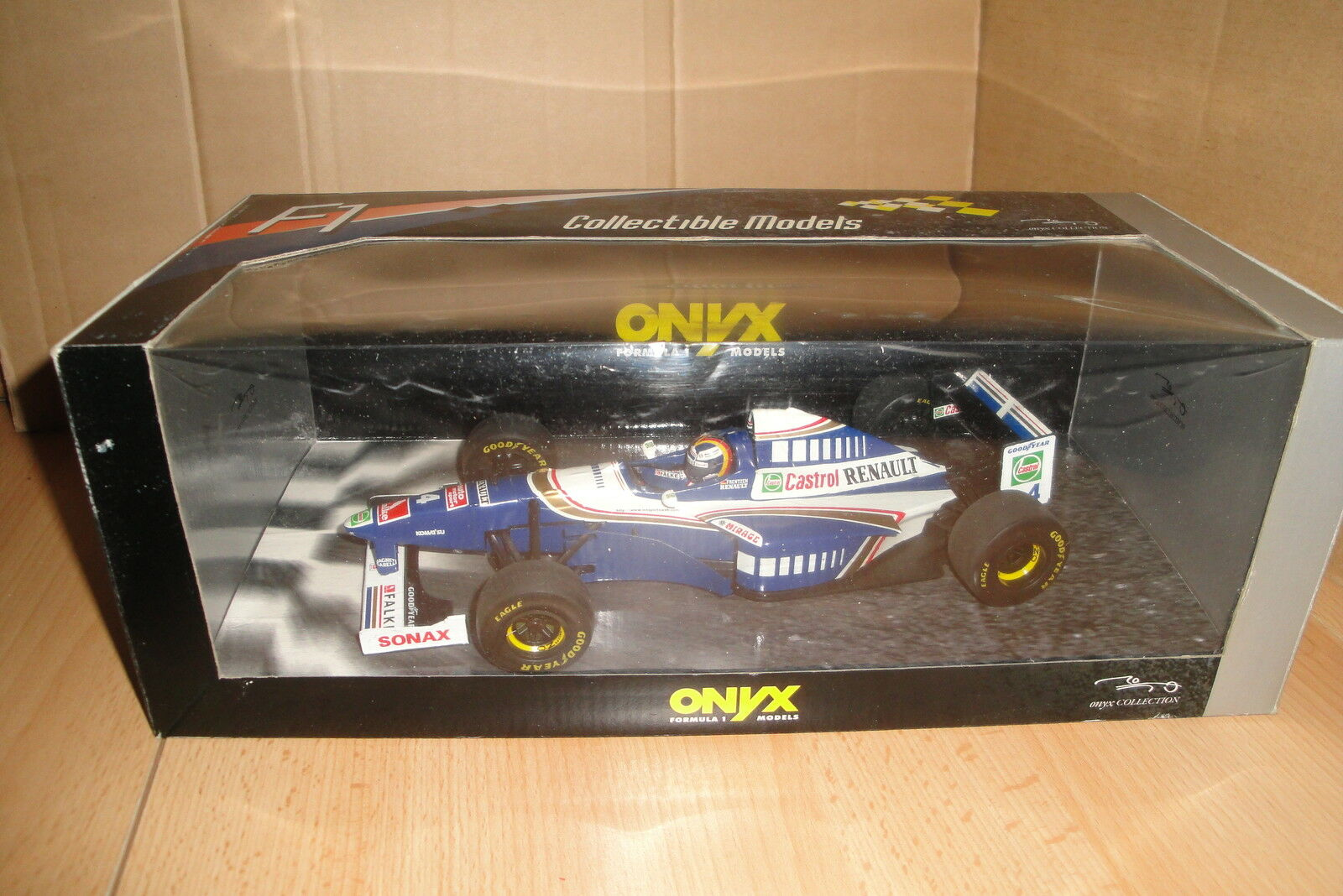 WILLIAMS RENAULT FW18 PRESENTATION CAR 1997 H.H. Frentzen 1 18  ONYX Top Zustand  |  Neuer Markt