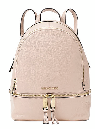 afbcc65ad7ce Women s Bag Michael Kors 30s5gezb1l Backpack Soft Pink Rhea Zip Rosa ...