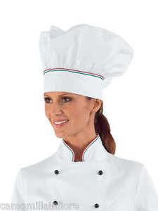 Caricamento dell immagine in corso CAPPELLO-Pasticcere-Da-Chef-CUOCO -Classico-Taglia-Unica- c7806b2ef6a1