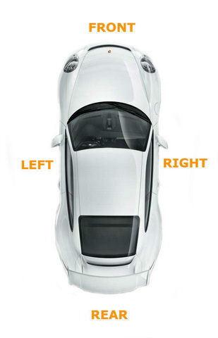 Espejo De Puerta De Ala Eléctrico Lado Derecho Vidrio Calentado LHD VW Caddy 2004-2015