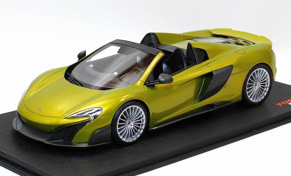 Höchstgeschwindigkeit modell 1   18 mclaren 675lt spider solis   ts0071