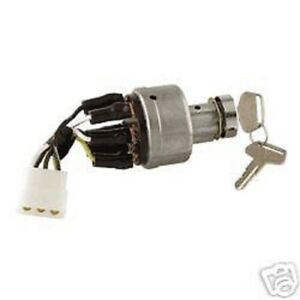 komatsu forklift ignition switch parts 10 6 terminal ebay. Black Bedroom Furniture Sets. Home Design Ideas