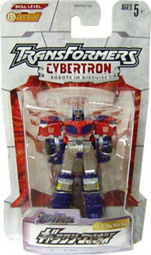 Transformatoren cybertron galaxie kraft optimus prime action - figur ez-01 [japanisch]